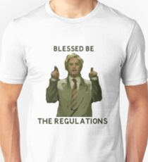 Quiz Broadcast - Blessed Be The Regulations T-Shirt