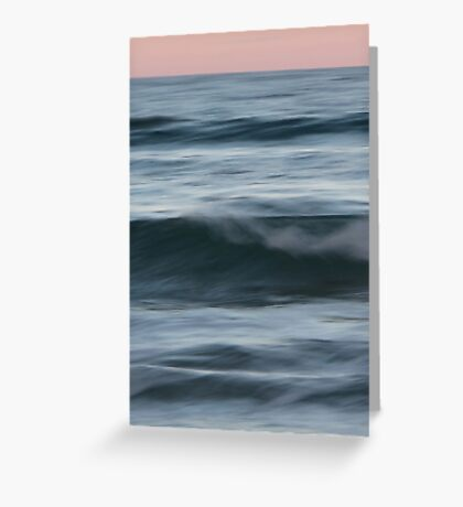 Dialogue With the Sea  Greeting Card