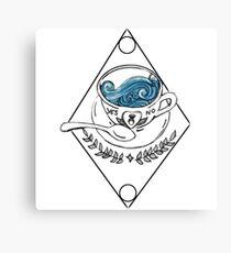 Sea Cup Canvas Print