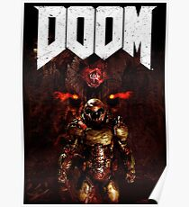 The Doom Slayer Poster