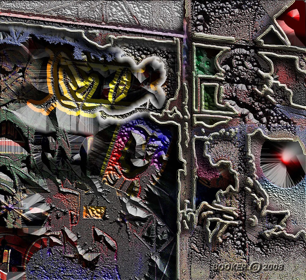 A DARK ALLEY NR 7th AVE. by BOOKMAKER