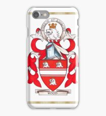 Wood Coat of Arms iPhone Case/Skin