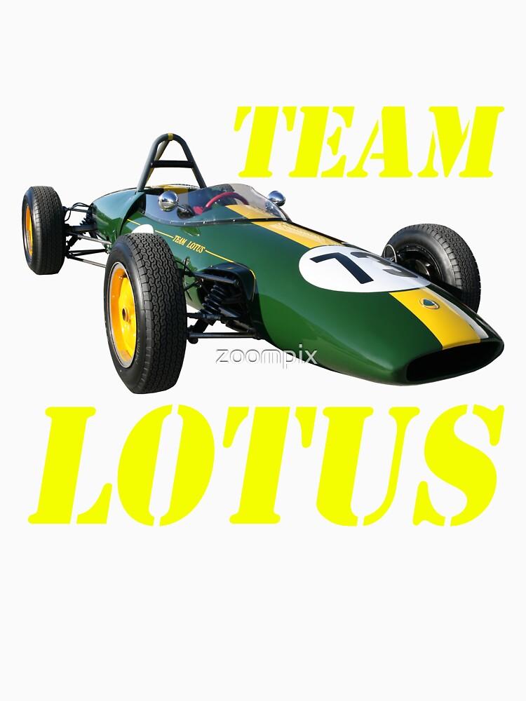 Team Lotus by zoompix