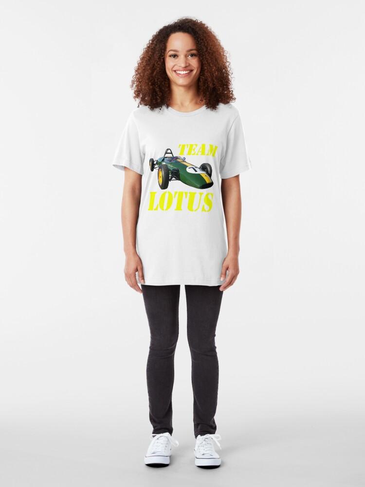 Alternate view of Team Lotus Slim Fit T-Shirt