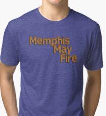 Memphis May Fire Ginger Hair Tri-blend T-Shirt