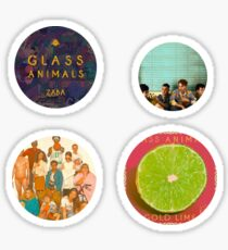 Glass Animals Sticker Pack Sticker