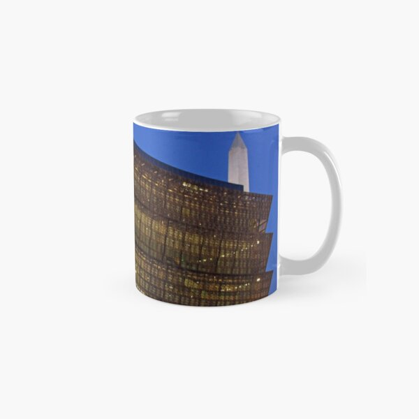 Dawn At The National Museum Of African American History And Culture Classic Mug
