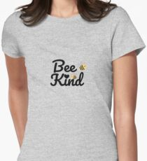 BEE KIND  Womens Fitted T-Shirt