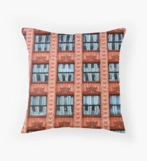 Reflections in Terra Cotta Throw Pillow
