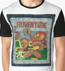 Retro Adventure Game Cartridge Graphic T-Shirt
