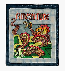 Retro Adventure Game Cartridge Photographic Print