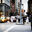 New-York or the Urban Buzz by Douzy