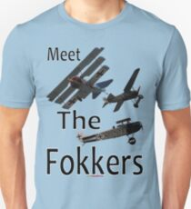 Meet The Fokkers Parody Design T-Shirt