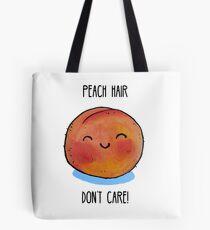 Essen Pun - Pfirsich Haar, egal Tote Bag