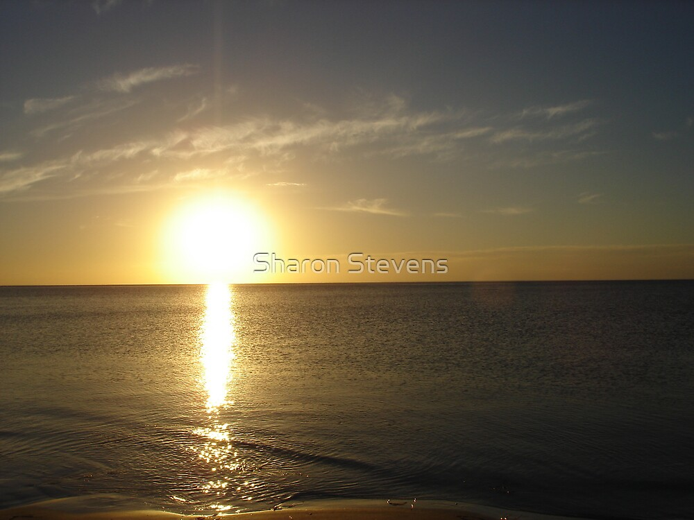sunset 2 Normanville by Sharon Stevens