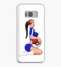 Nintendo Pokemon Babe Ash Sexy Pinup Girl Samsung Galaxy Case/Skin