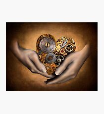 My Heart is in your Hands Photographic Print