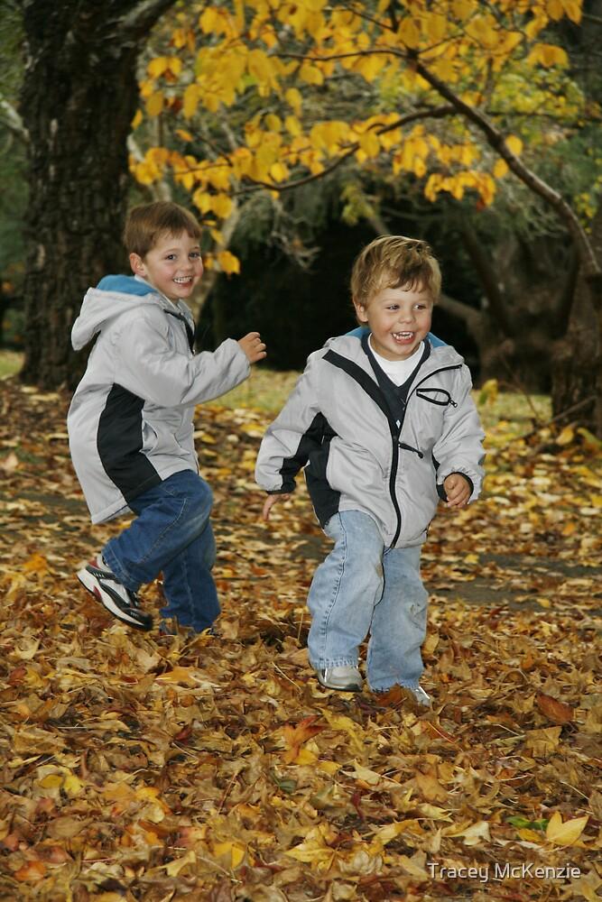 autumn playground by Tracey McKenzie
