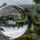 Lake District Landscape through a Crystal Ball by Mark A Hunter