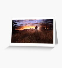 DayZ landscape Greeting Card
