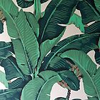 Golden Girls Banana Leaf Style Pillow by gregs-celeb-art