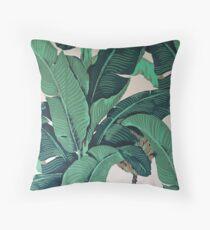 Golden Girls Banana Leaf Style Pillow Throw Pillow