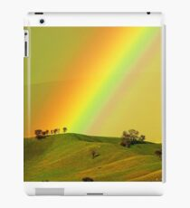 Rainbow above the Everton Hills iPad Case/Skin