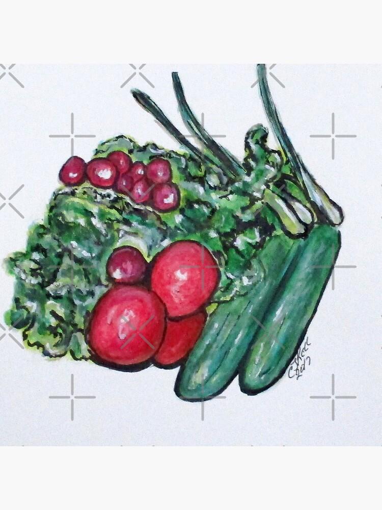 Freshly Uncut Salad by cjkell