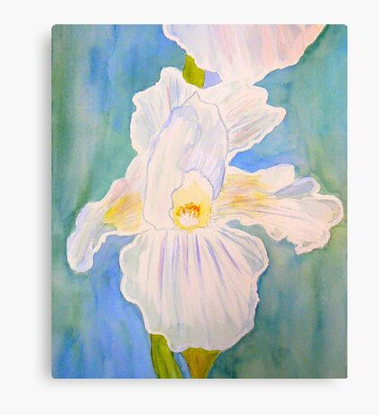 Immortality Iris Canvas Print
