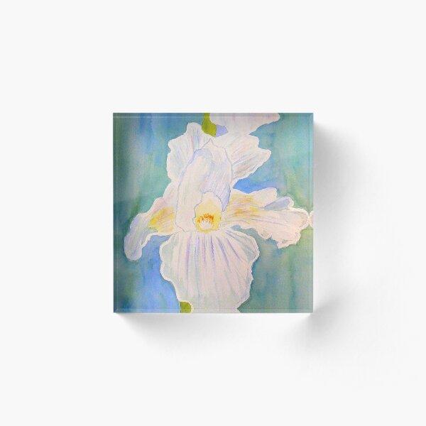 Immortality Iris Acrylic Block