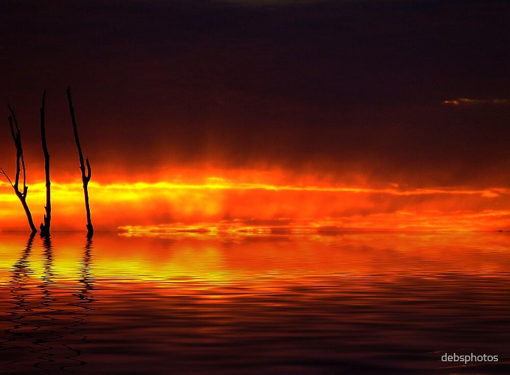 """Blazing Water"" by debsphotos"