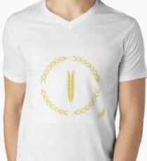 Wheat Icon Men's V-Neck T-Shirt