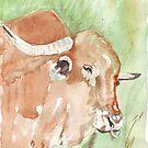 Afrikanischer Stier von Maree Clarkson