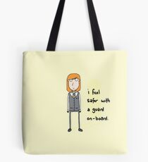 I feel safer with a Guard on-board Tote Bag