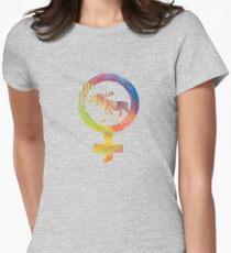 Venus Moose Womens Fitted T-Shirt