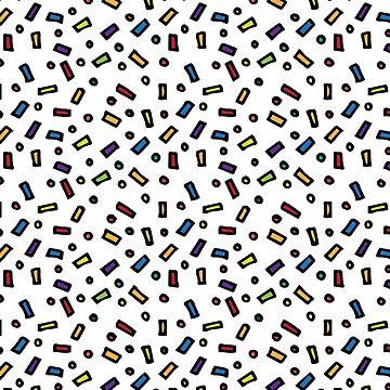 Confetti Pattern by pauladolz