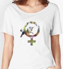 Venus Unicorn Women's Relaxed Fit T-Shirt