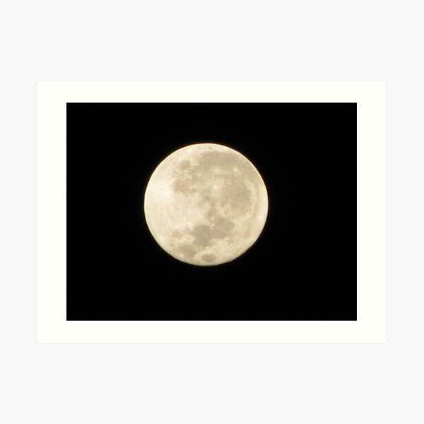 Moon in Taurus Art Print