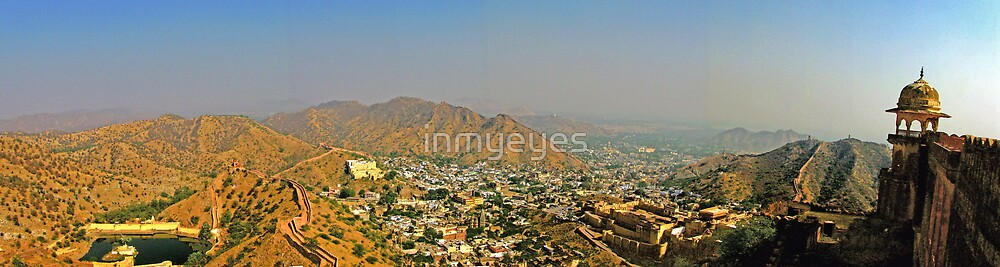Rajasthan From Up High by inmyeyes