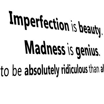 Imperfection quote by klyy52