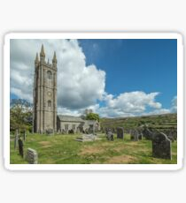 St Pancras Church, Widecombe-in-the-Moor Sticker