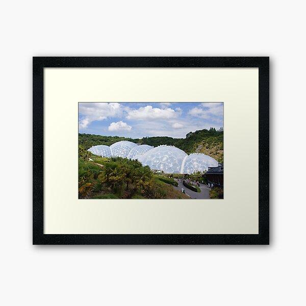 The Eden Project Framed Art Print