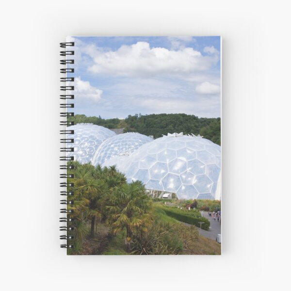 The Eden Project Spiral Notebook