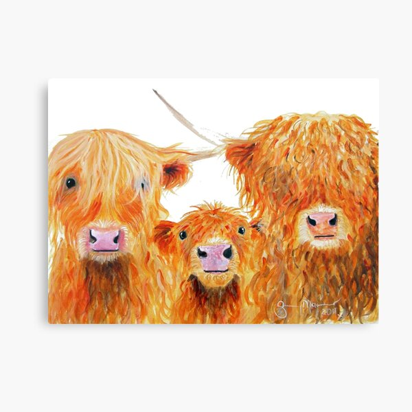 WE 3 COOS Canvas Print