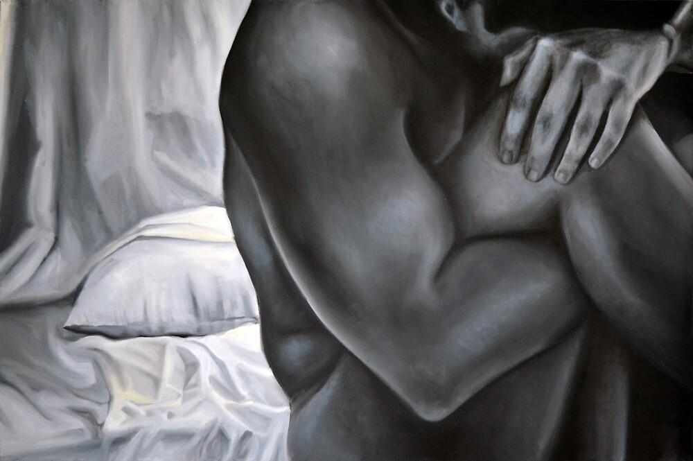 Hold on tight, 2014, 120-80cm, oil on canvas by oanaunciuleanu