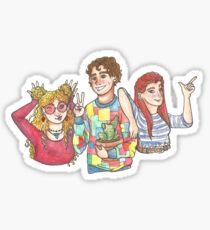 Silver Trio Sticker