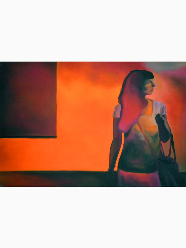 Burning flame, 2014, 120-80cm, oil on canvas by oanaunciuleanu