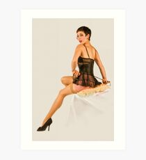 All tied up! Art Print