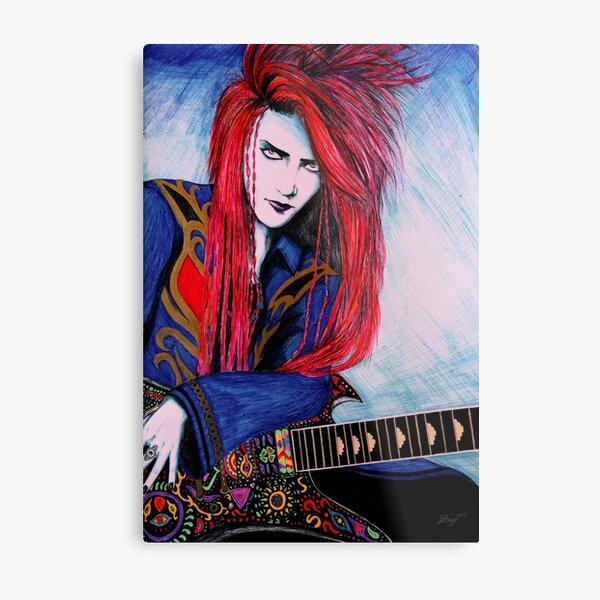 Red Spider - Full Portrait Metal Print