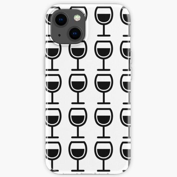 A Glass or Two of Wine iPhone Soft Case